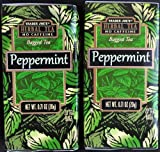 Cheap Trader Joes Peppermint Tea TWO PACK — 40 Tea Bags — Herbal No Caffeine