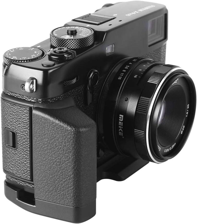 Meike MK-XPro3G Aluminum Alloy Hand Grip Quick Release Plate L Bracket for Fujifilm X-Pro3