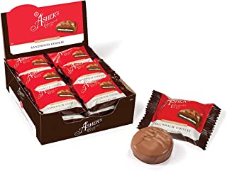 product image for Asher's Chocolate, Chocolate Covered Sandwich Cookie, Gourmet Chocolate Covered Treats, Small Batches of Koser Chocolate, Family Owned Since 1892 (18 Cookies, Milk Chocolate)