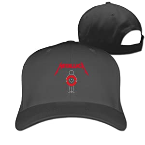 Adult Metallica Show Up For Health Cotton Adjustable Peaked Baseball Cap