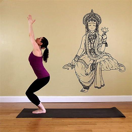 pegatina de pared frases Pegatina Dormitorio Yoga Hindú ...