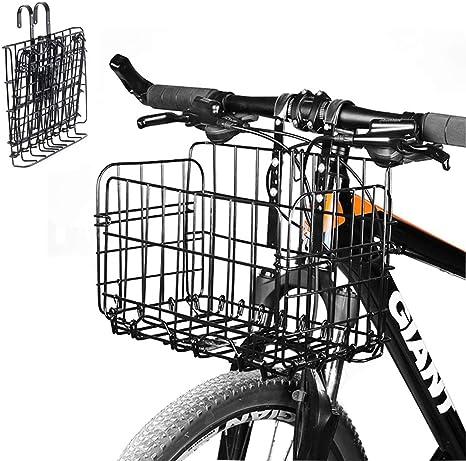 Enkrio - Cesta Plegable de Malla para Bicicleta (Parte Delantera ...
