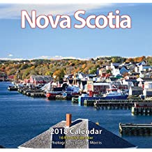 "Nova Scotia 2018 12x11.5"" Monthly Wall Calendar [Calendar] [Jul 01, 2017]"