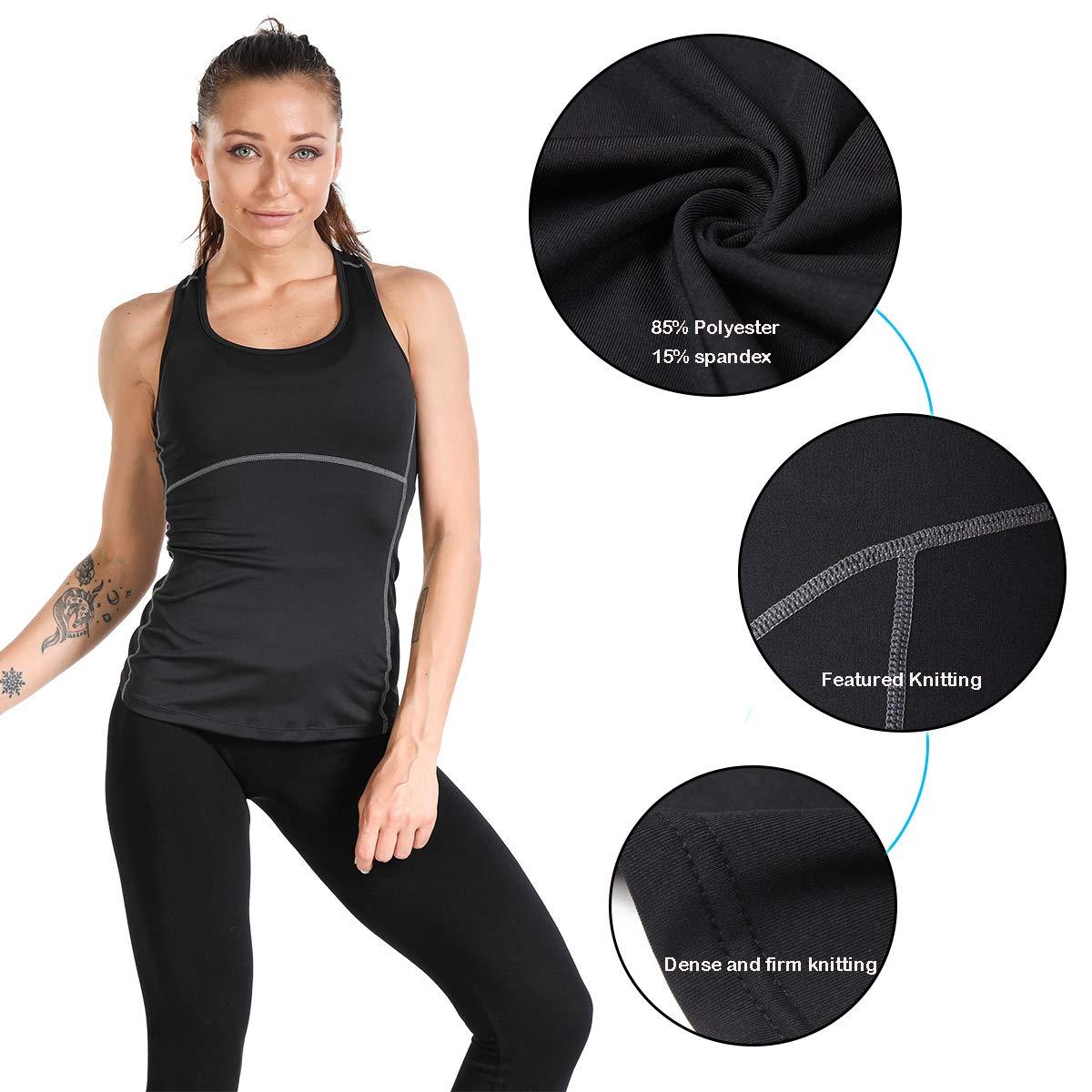 Amazon.com: JNINTH.Dry Fit camiseta de compresión para ...