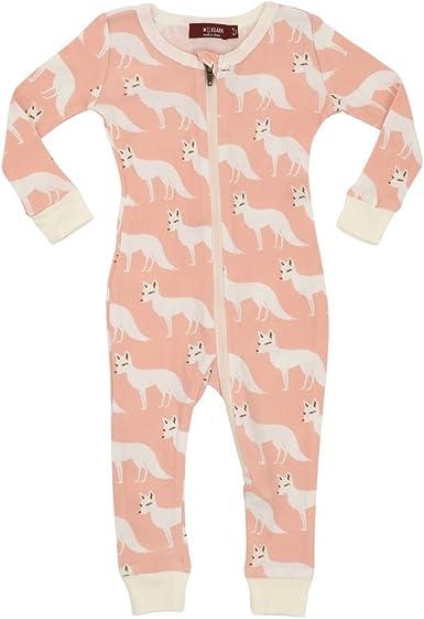 Tutu Elephant, 3-4 Years Milkbarn Bamboo Zipper Pajama,
