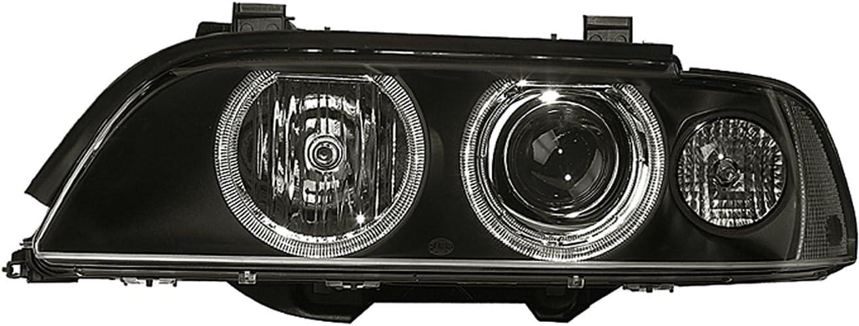 Rechts Ohne Kurvenlicht mit Gasentladungslampe mit Gl/ühlampen HELLA 1EL 008 052-581 Halogen Hauptscheinwerfer mit Stellmotor f/ür LWR