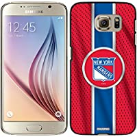Coveroo Snap-On Cell Phone Case for Samsung Galaxy S6 - Retail Packaging - New York Rangers Jersey