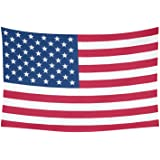 "ADEDIY Custom Wall Tapestry US Flag Stars and Stripes Cotton Linen Wall Hanging Dorm Art Tapestry Soft Home Decor DIY 60""x 40"""