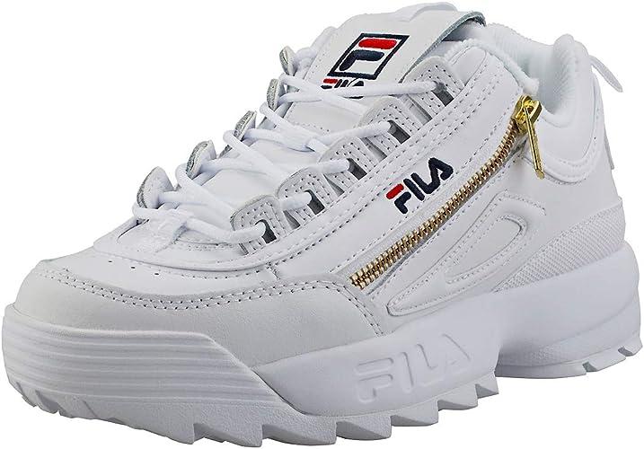 amazon fila casual zapatillas blanco
