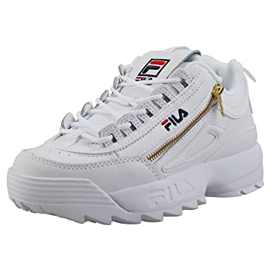 Amazon.com | Fila Disruptor 2 Zipper Womens Platform ...