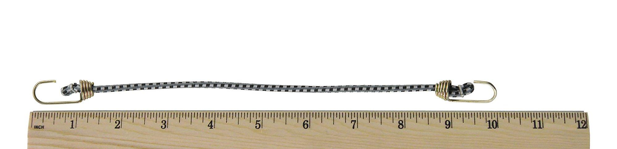 Keeper (06052 10'' Mini Bungee Cord, (Pack of 8)