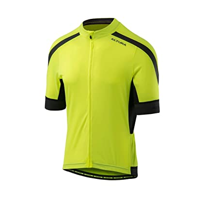 Amazon.com   Altura Hi-Viz Yellow 2018 Nv2 Short Sleeved Cycling Jersey (M d7287c9d2