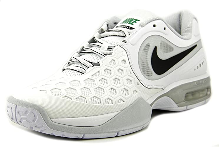 Hacer tugurio resumen  NIKE Courtballistec 4.3 Wimbledon Scarpa da Tennis Uomo, Bianco, 45: Amazon.it:  Scarpe e borse