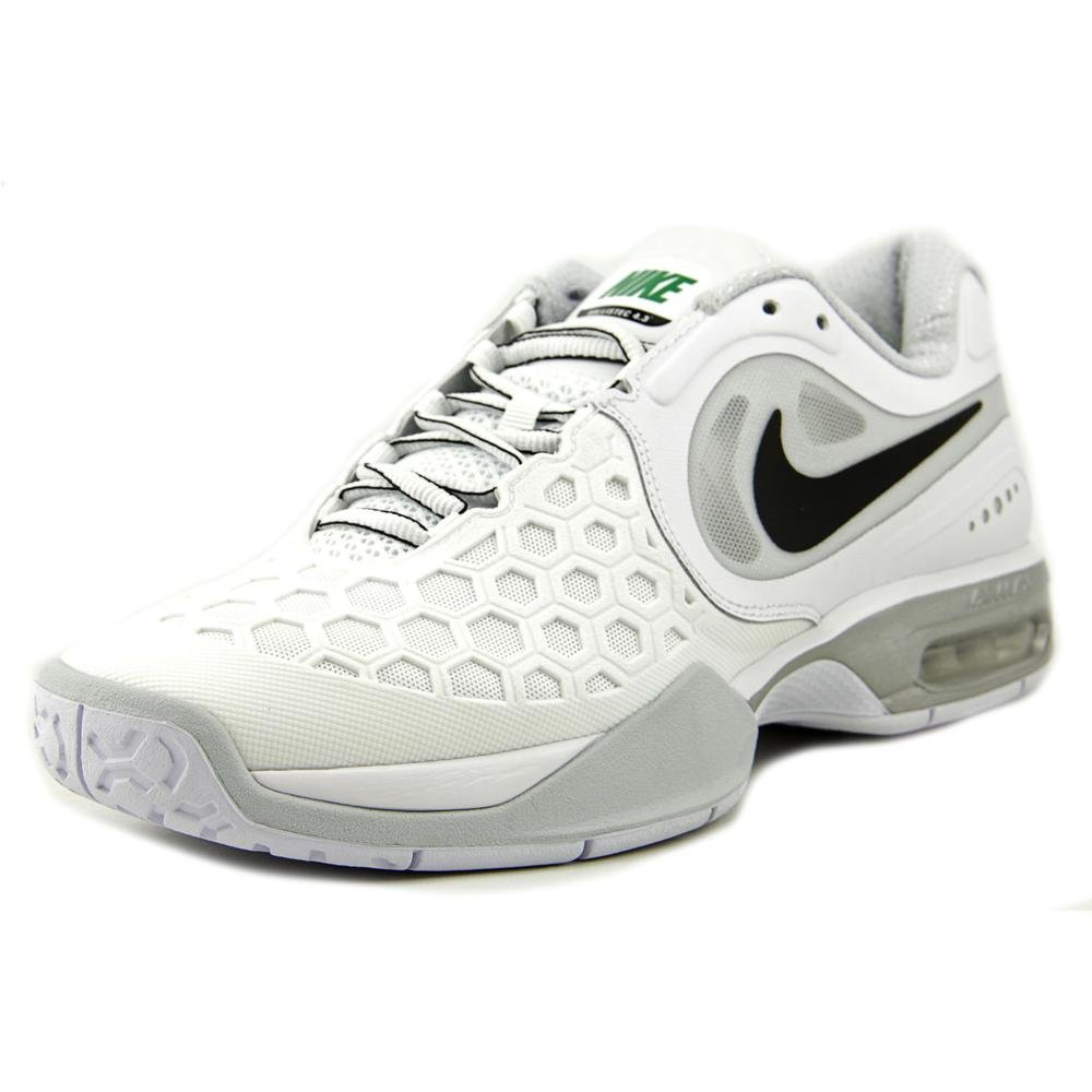 check out a9919 7ead1 Amazon.com   NIKE New Air Max Courtballistec 4.3 White Platinum Mens 8    Shoes