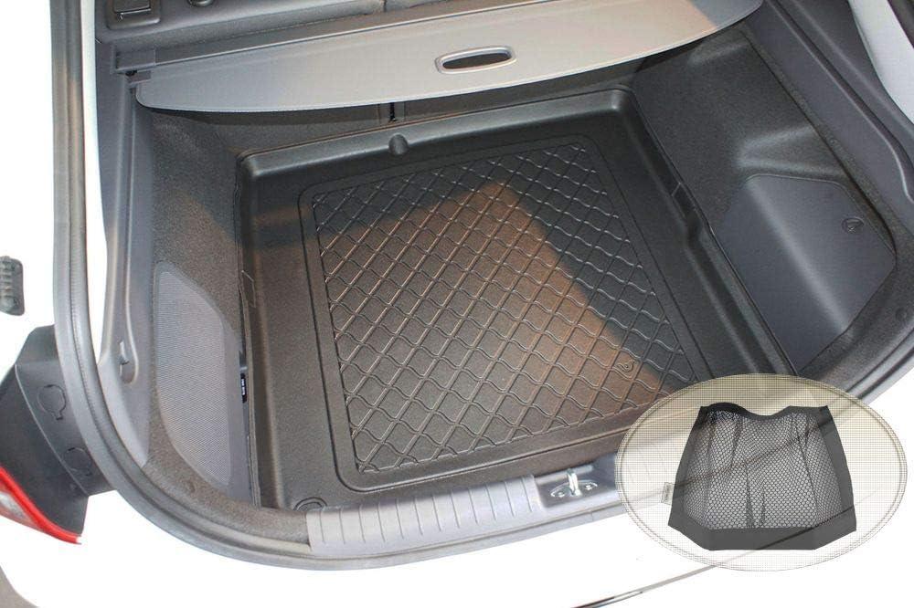 Klett-Organizer ZentimeX Z3129678 Gummierte Kofferraumwanne fahrzeugspezifisch Laderaumwanne, Kofferraummatte