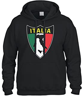 ebdf2114 Amazon.com: Italia Distressed Flag Stripe Banner -Italian Italy Mens ...