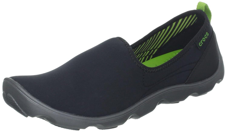 Crocs Women's Duet Busy Day Shoe B00ANJKRLA 4.5 W US|Black/Graphite
