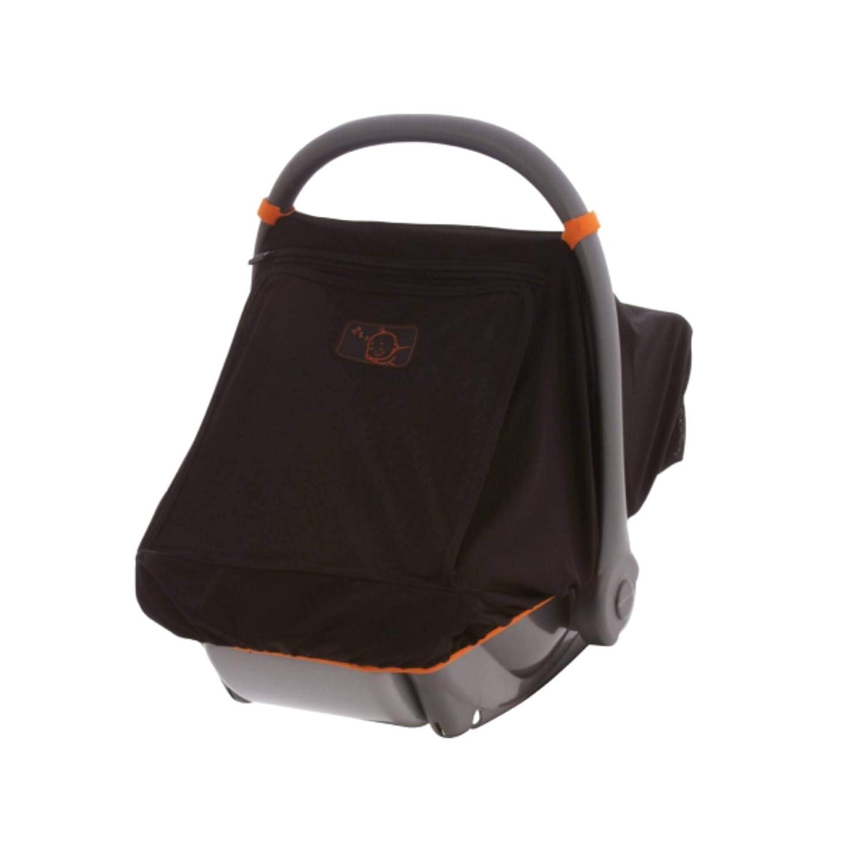 Black sequin-blackout car seat canopycar seat cover