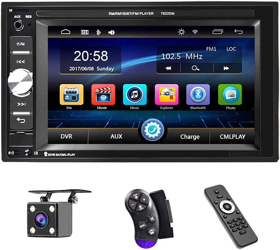 Max 49% OFF UNITOPSCI Car Multimedia Player Double Bluetooth and Audio trust Din