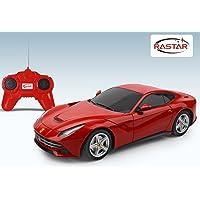 Rastar 6930751306950 Ferrari F12 Berlinetta Uzaktan Kumandalı Araba 1: 24/, Kırmızı