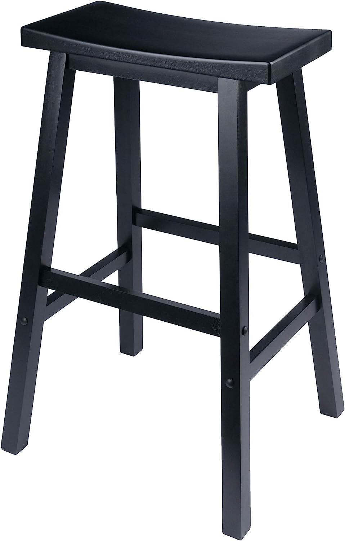 Winsome Satori Stool 29 Black Furniture Decor