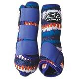Professional's Choice Ventech Elite Sports Medicine Boots Value 4-Pack, Medium, Quartz