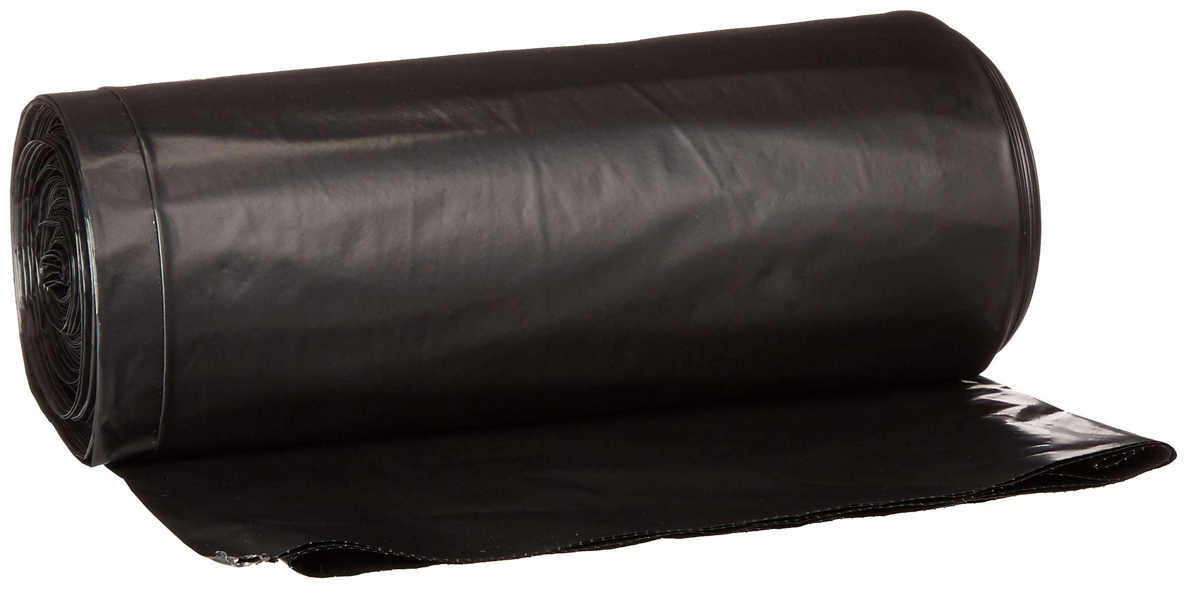 Aserson Heavy Duty Contractor Trash Garbage Bags, 3MIL Strengh 42 Gallon 32 inches x 46 inches - Black (32 inches X 46 inches, Black) ... (Black, 20 Per Case)