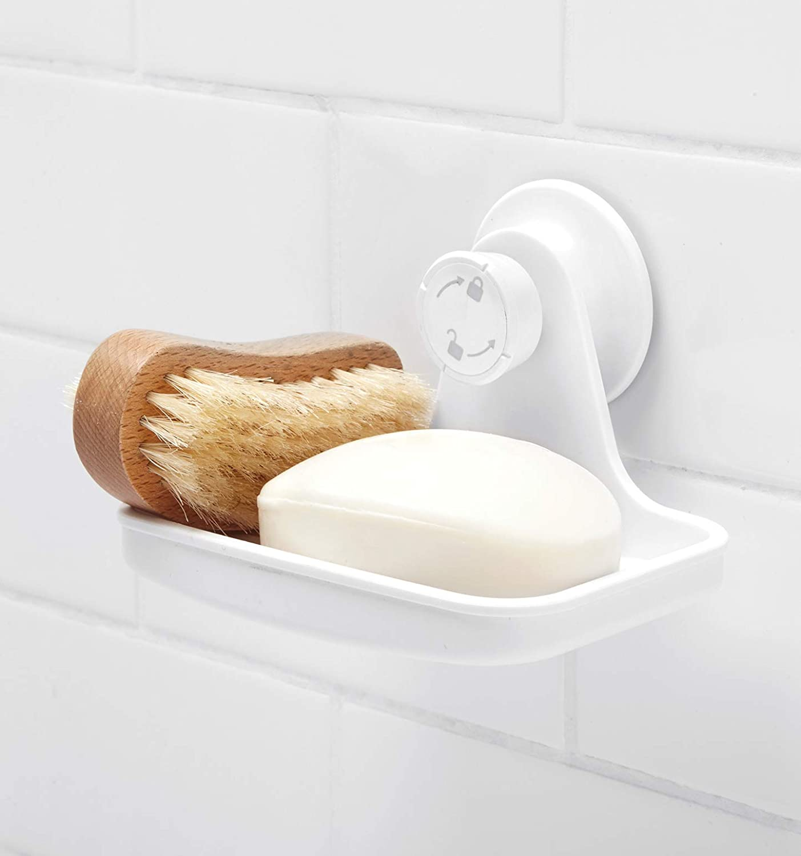 Umbra Flex Soap Dish Seifenschale Seifenablage Saugnapf Weiß 1004433-660