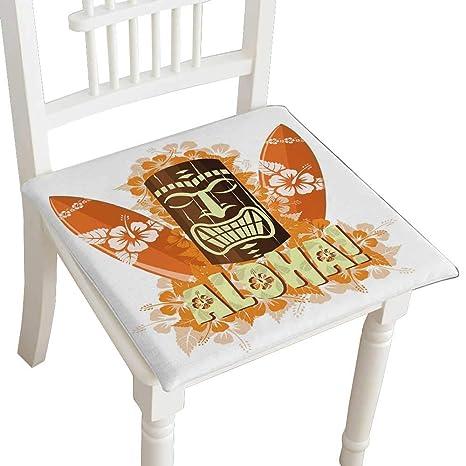 Amazon.com: HuaWuhome – Cojín decorativo para silla con ...