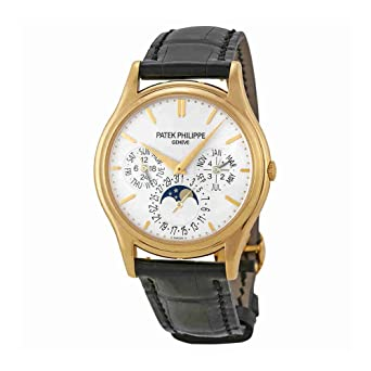 dd9f5be6392 Image Unavailable. Image not available for. Color: Patek Philippe Grand  Complication White Dial 18kt Yellow Gold Mens Watch 5140J-001