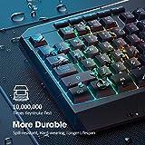 PICTEK RGB Gaming Keyboard USB Wired