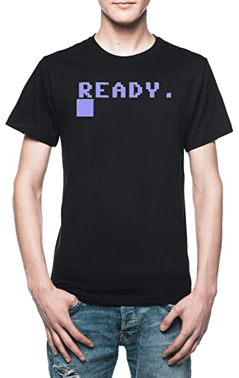 Commodore BASIC Ready Prompt T-shirt for Men