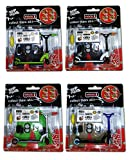 LOT of 4 Scooters - Grip and Tricks - Great Deal 4 Pack of Finger Scooters - Skate - Pack1