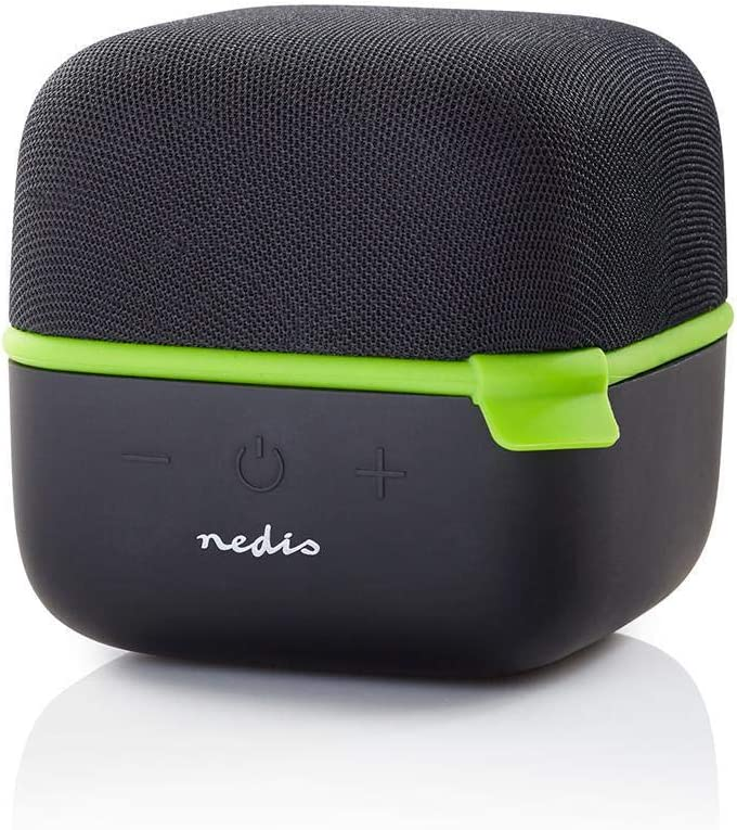 Nedis Bluetooth Speaker with 5h Playtime, True Wireless Stereo Speaker with 15W, Loud Portable Speaker for iPhone, Samsung and Other Smartphones,