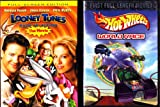 Looney Tunes Back In Action The Movie , Hot Wheels World Race : Family Movie 2 Pack