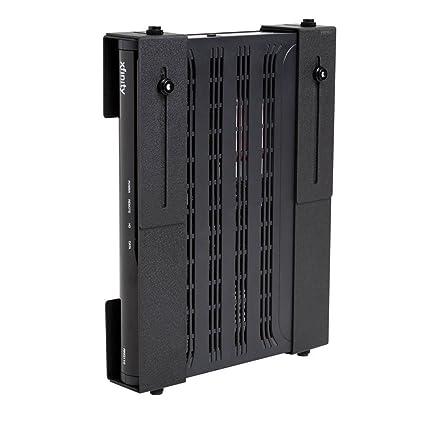 HIDEit Uni-M | Patented Adjustable Set-top Box Mount, PlayStation Bracket,  Cable Box Storage, Satellite Receiver, Security DVR, Component Shelving