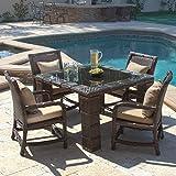 Cheap Burton Outdoor 5pc Dining Set w/ Cushions