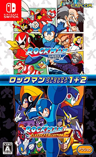 Capcom Rockman Classics Collection 1 +2 Megaman NINTENDO SWITCH JAPANESE IMPORT REGION FREE