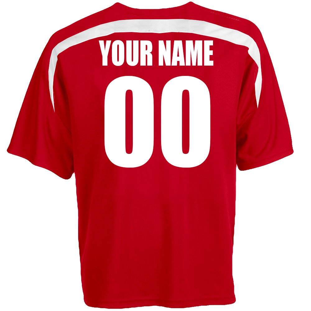 adcbdddeb30 Amazon.com: Custom Austria Soccer Jersey Personalized with Your Names and  Numbers: Clothing