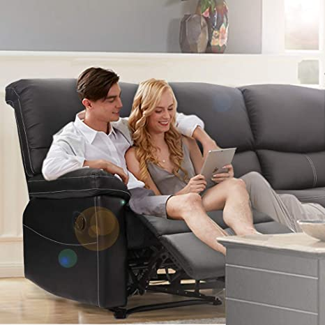 Amazon.com: Sofá reclinable 3 piezas Sofá Loveseat ...