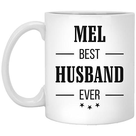 Amazon.com: Mel mejor marido Ever grande taza de café ...