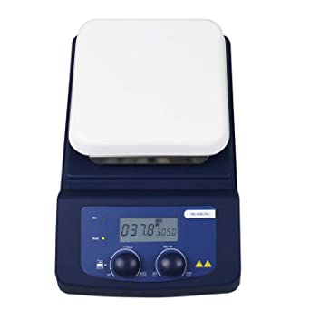 280℃ Stir Plate Stirring Bar PT1000 and Support clamp Included ONiLAB 5 inch LED Digital Hotplate Magnetic Stirrer with Ceramic Coated Lab Hotplate Magnetic Mixer 3L Stirring Capacity 200-1500rpm