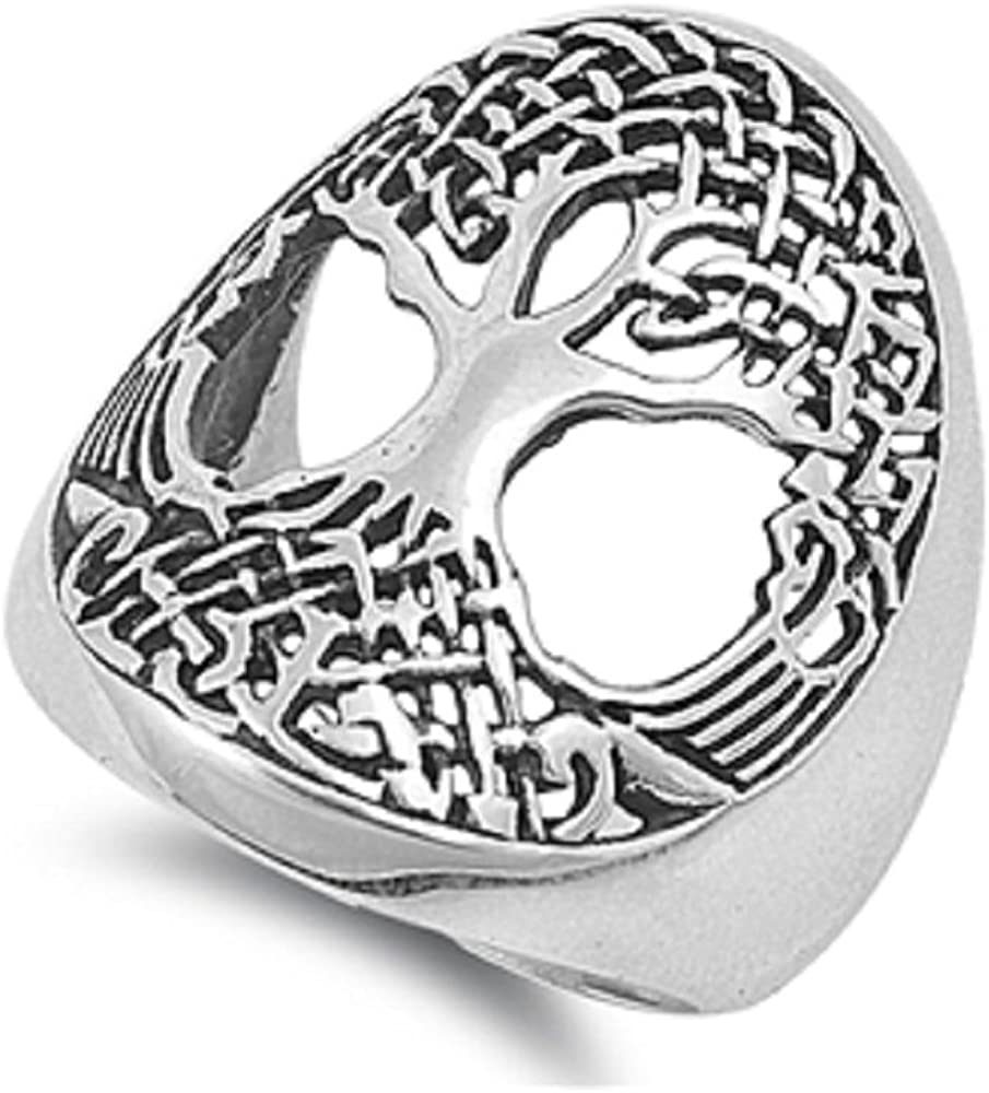 Princess Kylie Sterling Silver Musical Note Ring Sizes 4-15