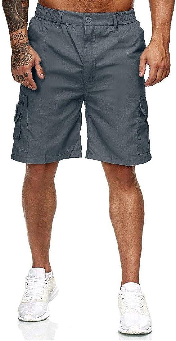 Homme Vintage Pantacourt Shorts Balock Coton Outdoor Cargo AjqRc345L