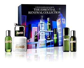Amazon.com : La Mer 2019 The Essential Renewal Collection Skincare Gift Set : Beauty