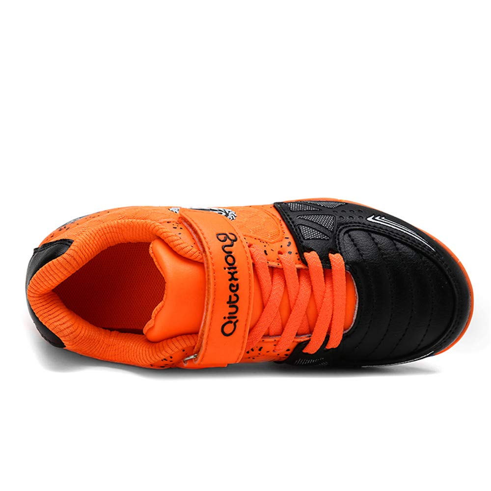a87d49f5e578 ... LEODI Children Toddler Football Cleats Kids Indoor Soccer Shoes for Boy  and Girl Training Sneakers ...