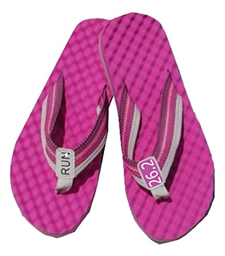 537cb15c913abb RunningontheWall Running Recovery Flip Flops - Choice of 3 Colors - Running  Thong Sandsls - Revitalise