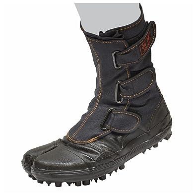 1a8e40dcc6f SOKAIDO Japanese Mountain Spike Rubber Boots Tabi Shoes Ninja Boots Black  US9(27 cm)