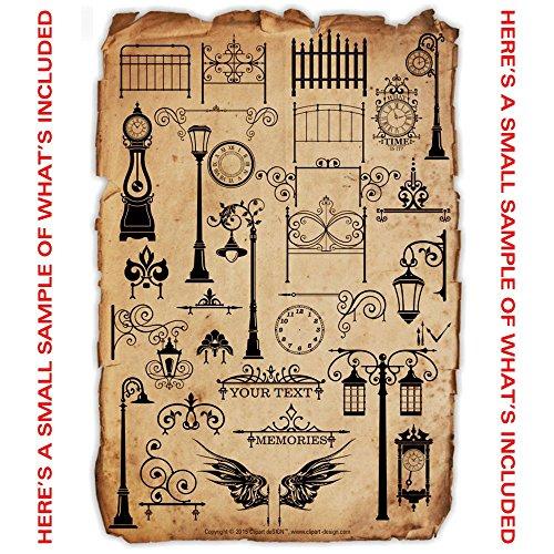 Wall Art Stickers Vector : Wall art decal sticker clipart vinyl cutter plotter images