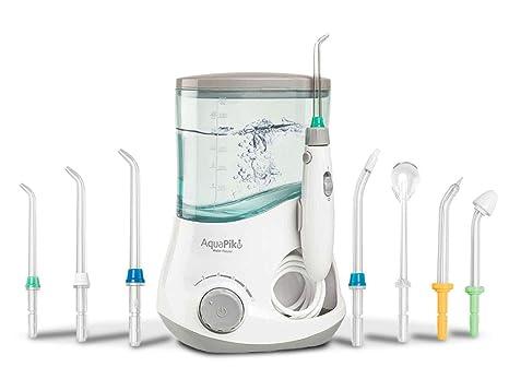 Aquapik 100 - Irrigador dental y Nasal único en el mundo con 7 Boquillas multifuncionales Recomendado por dentistas y médicos de todo el mundo. ...